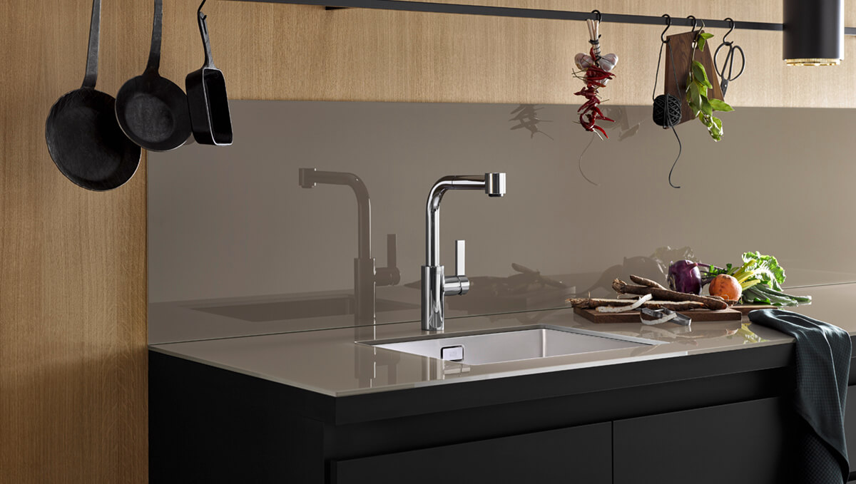 Dornbracht Elio chrome Kitchen Inspiration