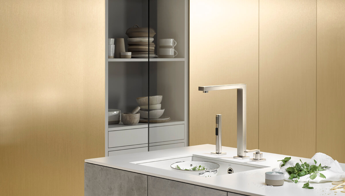 Dornbracht LOT Platinum matte Kitchen Inspiration