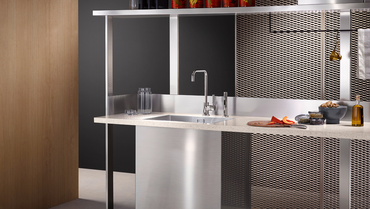 Dornbracht Meta02 chrome Kitchen Inspiration 2
