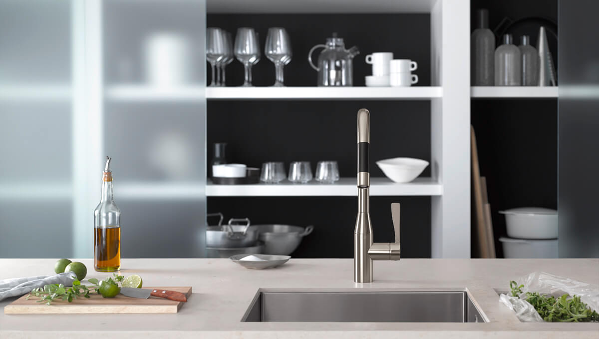 Dornbracht Sync Platinum matte Kitchen Inspiration