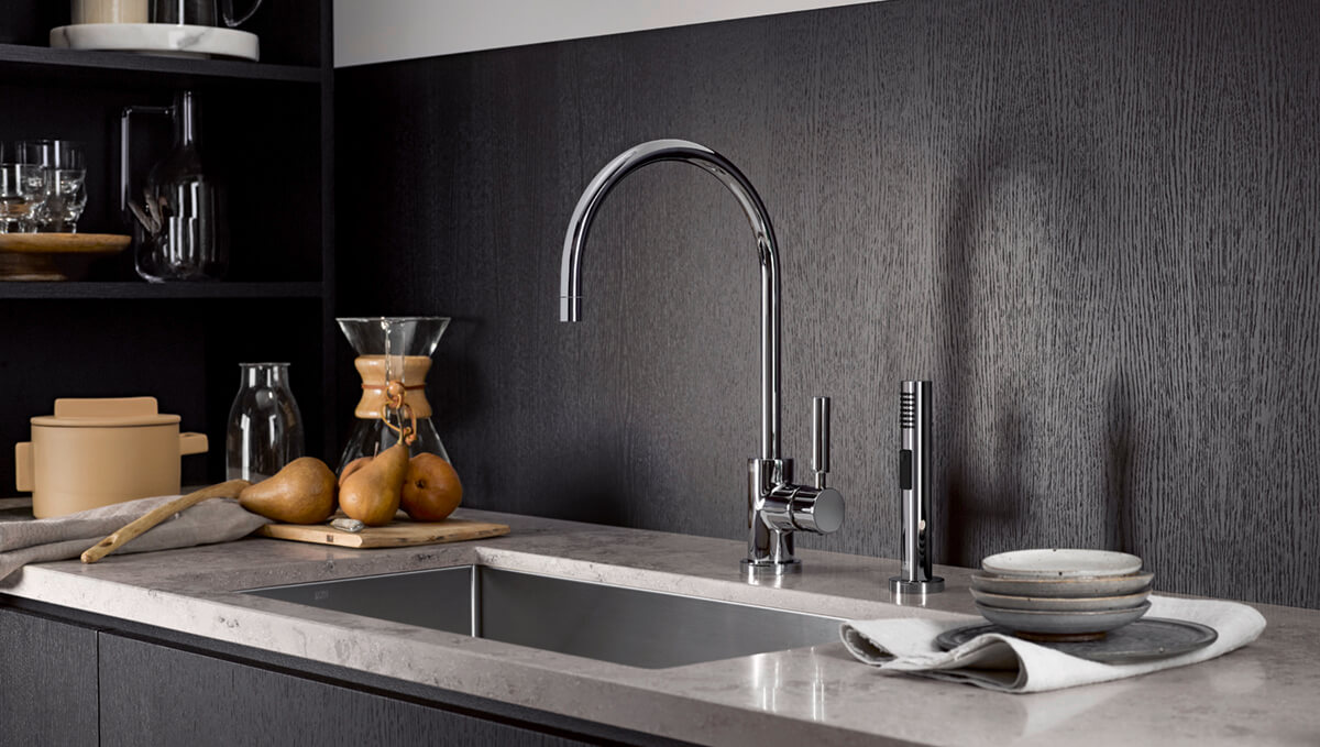 Dornbracht Tara Classic chrome Kitchen Inspiration