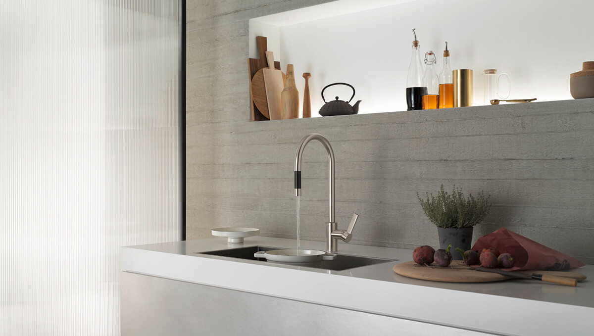 Dornbracht Tara Ultra Platinum matte Kitchen Inspiration
