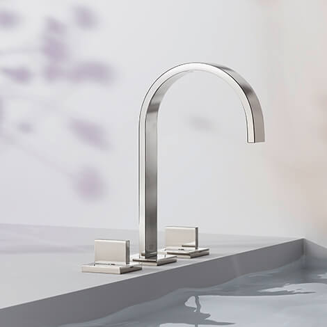 Dornbracht Mem platinum Bathroom Inspiration2
