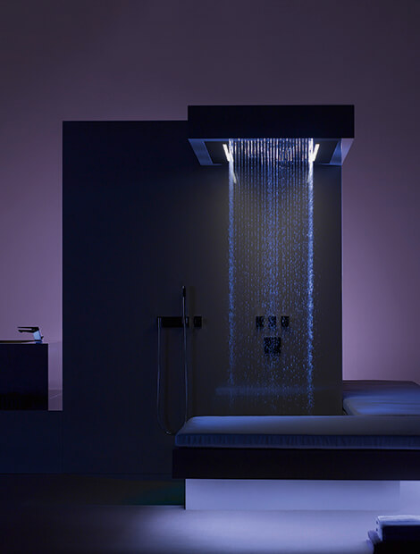 Dornbracht Aquamoon Exotic Waterfall Shower System