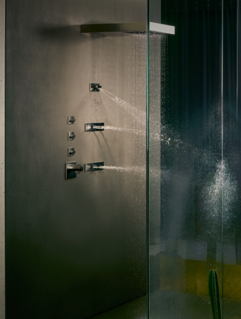 Dornbracht Experience Vertical Shower Bathroom