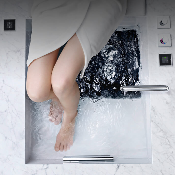 Dornbracht Experience Shower Foot Bath Bathroom Inspiration 2