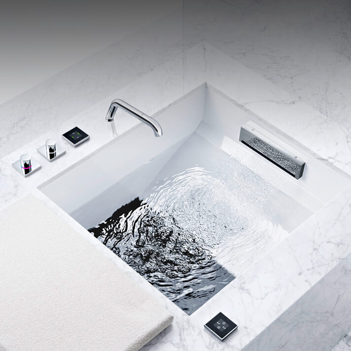 Dornbracht Experience Shower Foot Bath Bathroom Inspiration