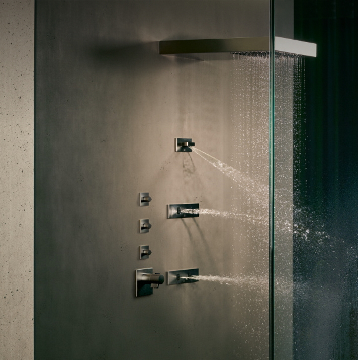 Dornbracht Experience Vertical Shower Bathroom Inspiration