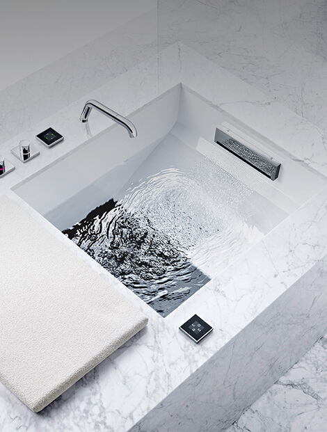 Dornbracht Experience Shower Foot Bath Luxury Bath