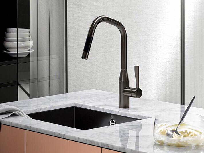Dornbracht Sync Dark Platinum matte Kitchen 2