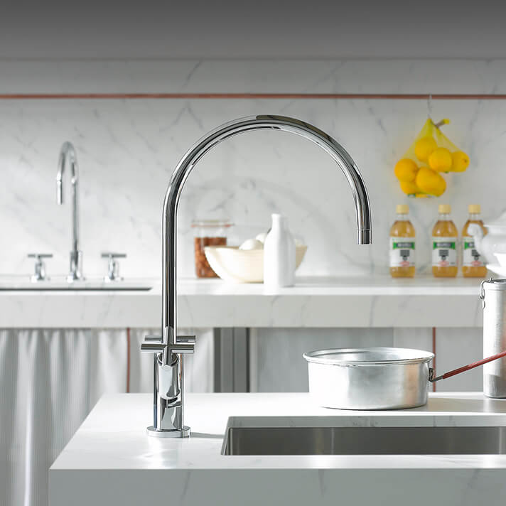 Dornbracht Tara chrome Kitchen Inspiration
