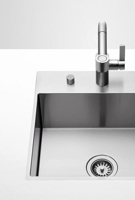 Dornbracht Bruished stainless steel Kitchen Inspiration