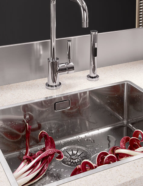 Dornbracht Polished stainless steel Kitchen Inspiration