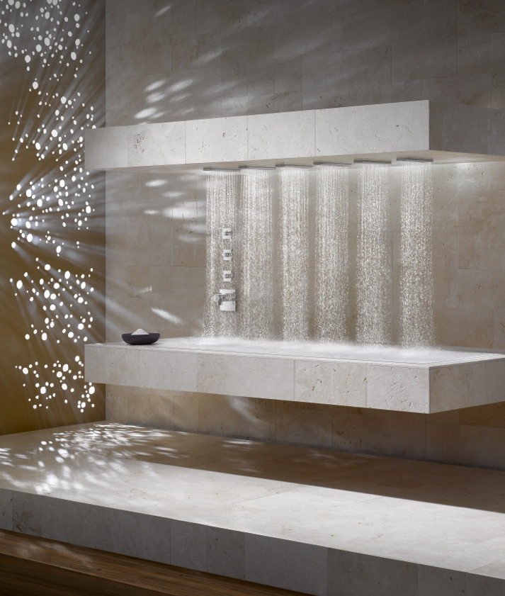 Dornbracht Horizontal Shower Spa Experience Bad Inspiration