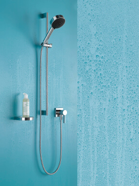 Dornbracht Modern Shower chrome Luxury Bathroom Inspiration 3