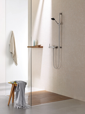 Dornbracht Modern Shower chrome Luxury Bathroom Inspiration