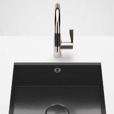 Dornbracht Kitchen Sinks black glossy