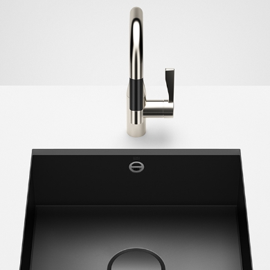 Dornbracht Kitchen sinks black matte