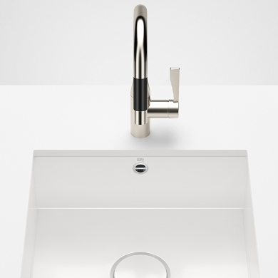 Dornbracht Kitchen sinks white glossy