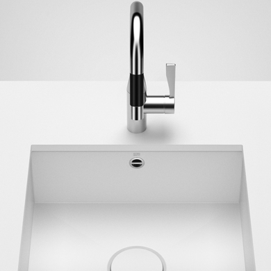 Dornbracht Kitchen Sinks white matte