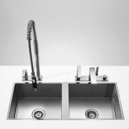 Dornbracht Kitchen Sinks Dual basin 38531000