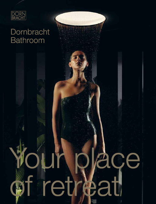 Dornbracht Bathroom Catalogue Cover US