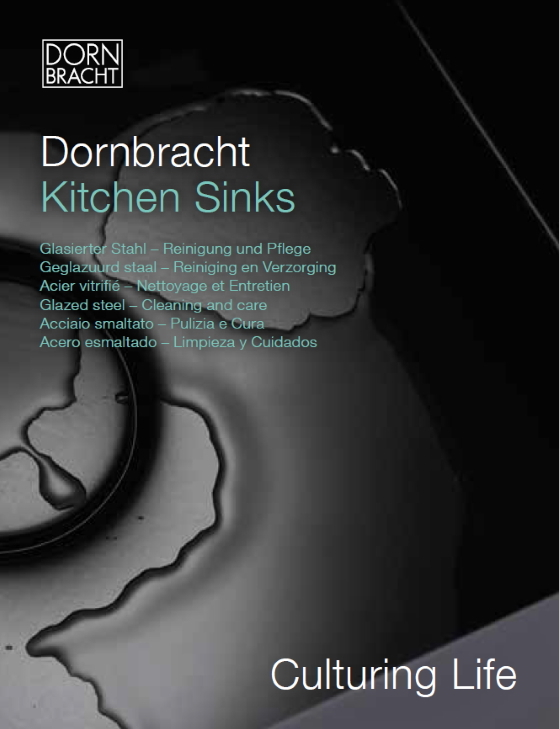 Dornbracht Care Instructions Kitchen Sinks