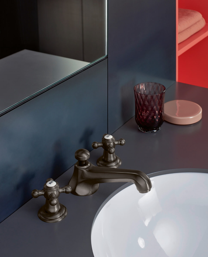 Dornbracht Madison Dark Bronze Luxury Bathroom Inspiration