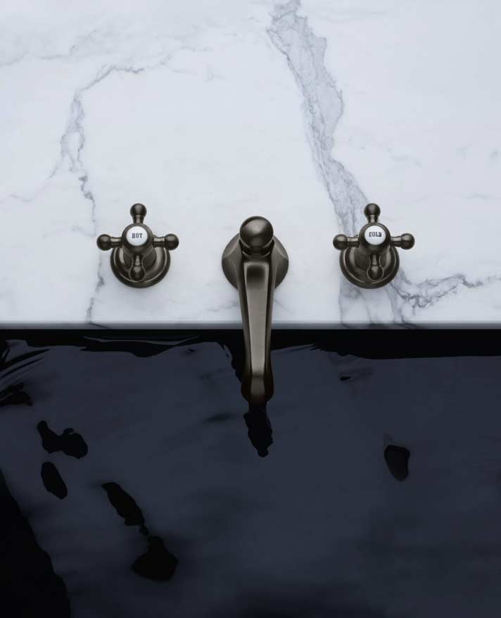 Dornbracht Madison Estate dark platinum matte luxus bathroom