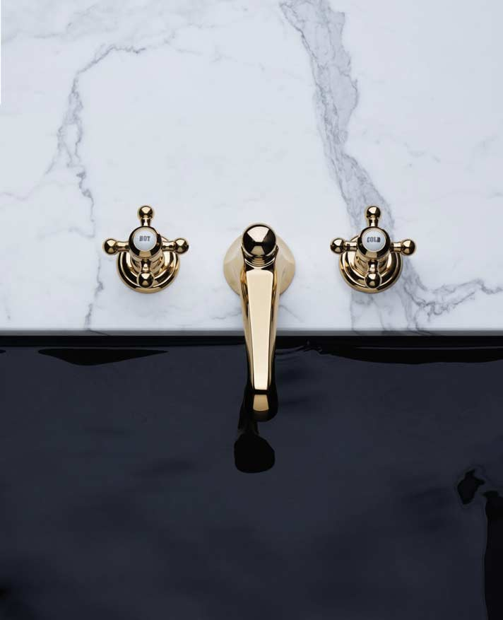 Dornbracht Madison Estate Durabrass luxus bathroom inspiration