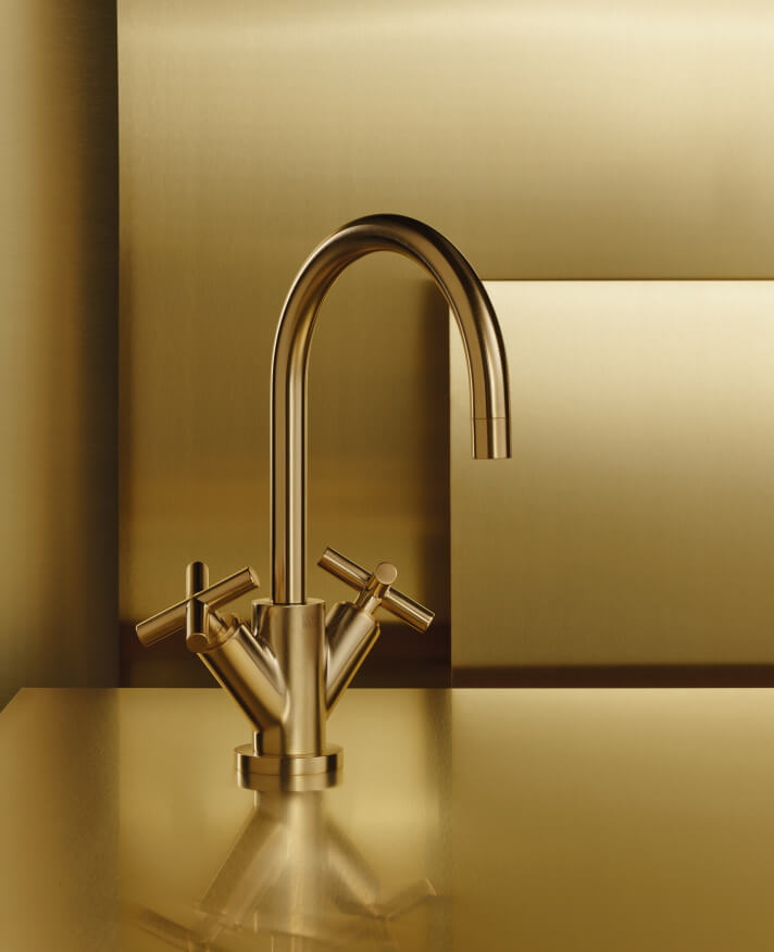Dornbracht Tara Brass Bad Inspiration