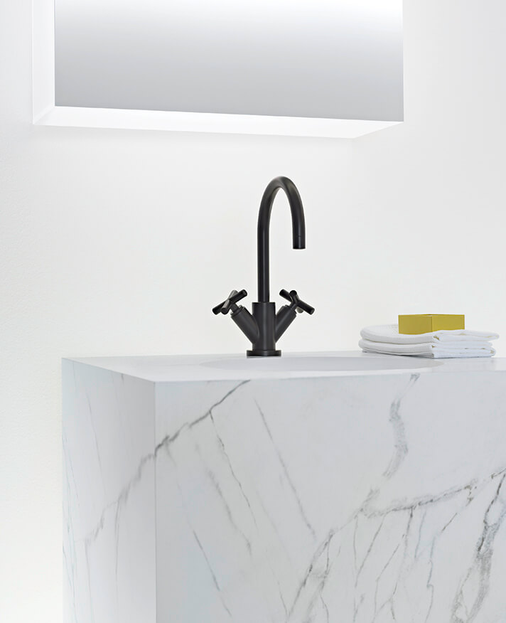 Dornbracht Tara Matte Black Bathroom Inspiration 2