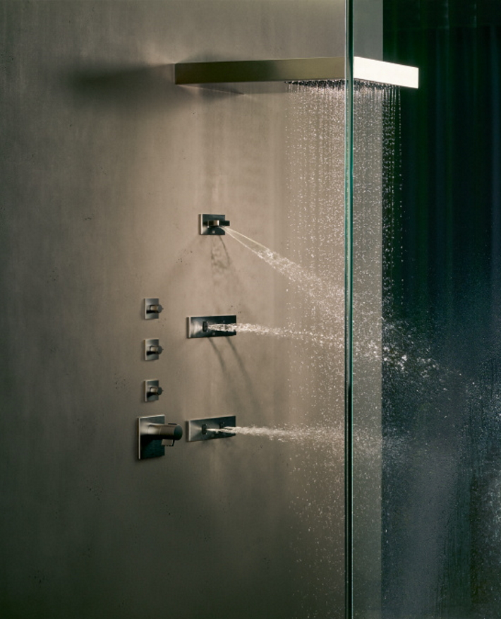 Dornbracht Experience Vertical Shower Luxury Bath