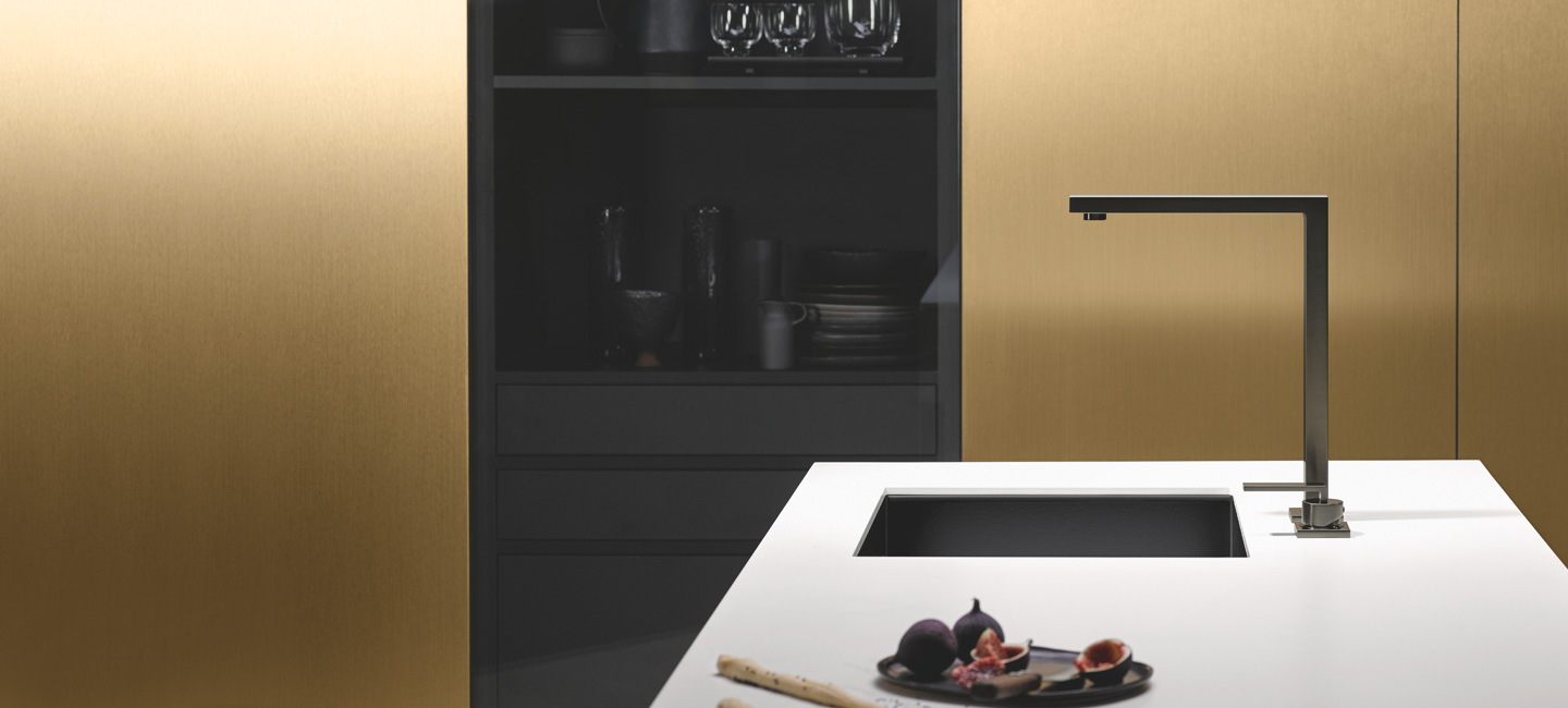 Dornbracht Lot Dark Platinum matte Kitchen Inspiration