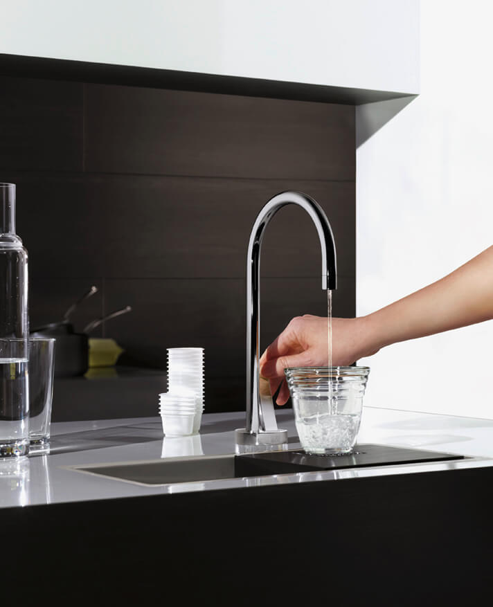 Dornbracht Tara Ultra Water Dispenser chrome Kitchen Inspiration