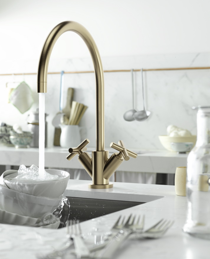 Dornbracht Brass Inspiration Tara Kitchen